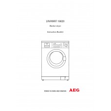 AEG L 16820 Washing Machine