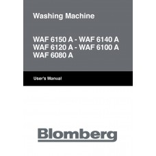 Blomberg WAF 6120 A Washing Machine